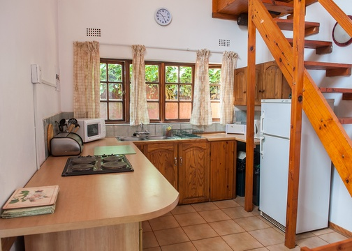 Kitchenette, Mountain view cottage
